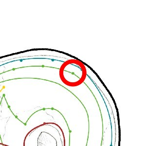 icon for:18 VB on map cabeza-lateral